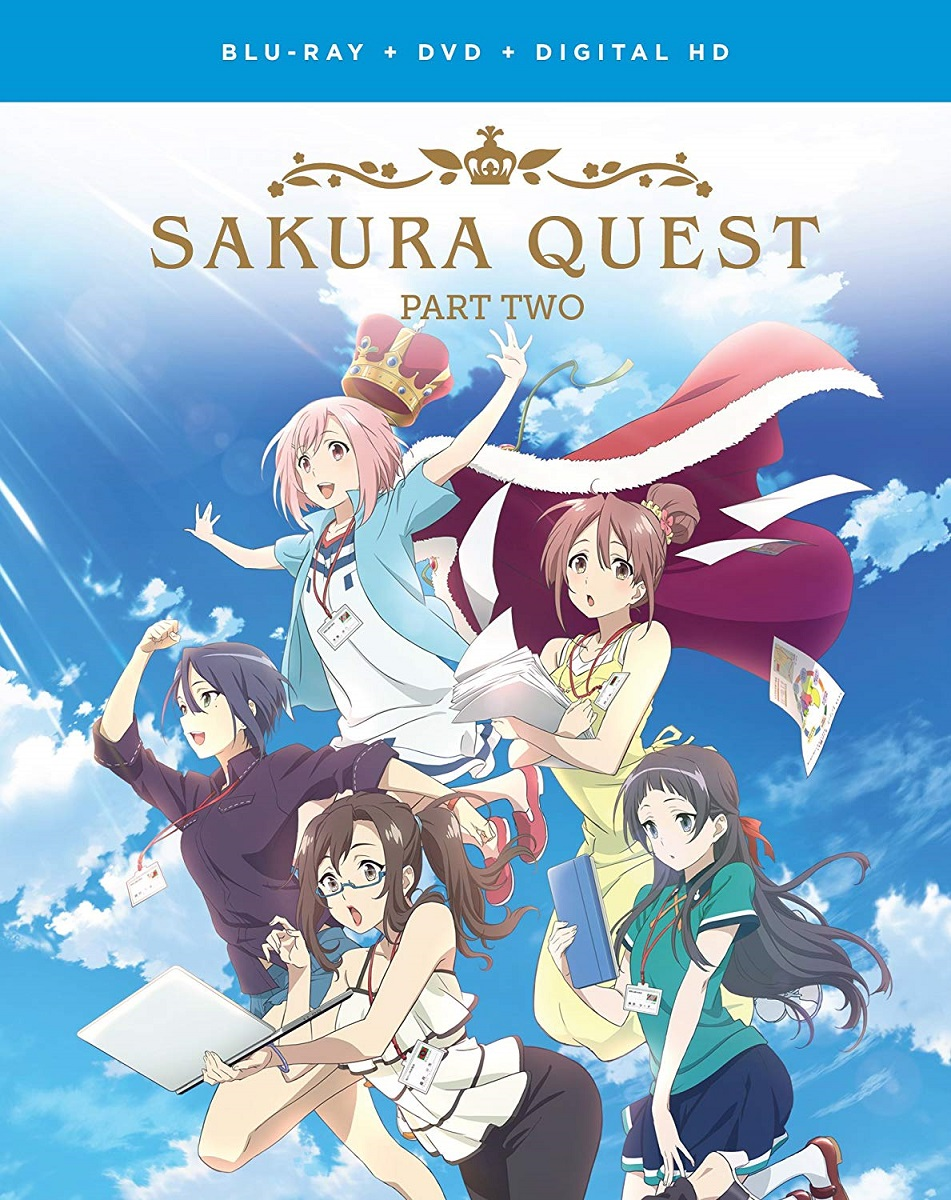 Sakura Quest Part 2 Blu-ray/DVD