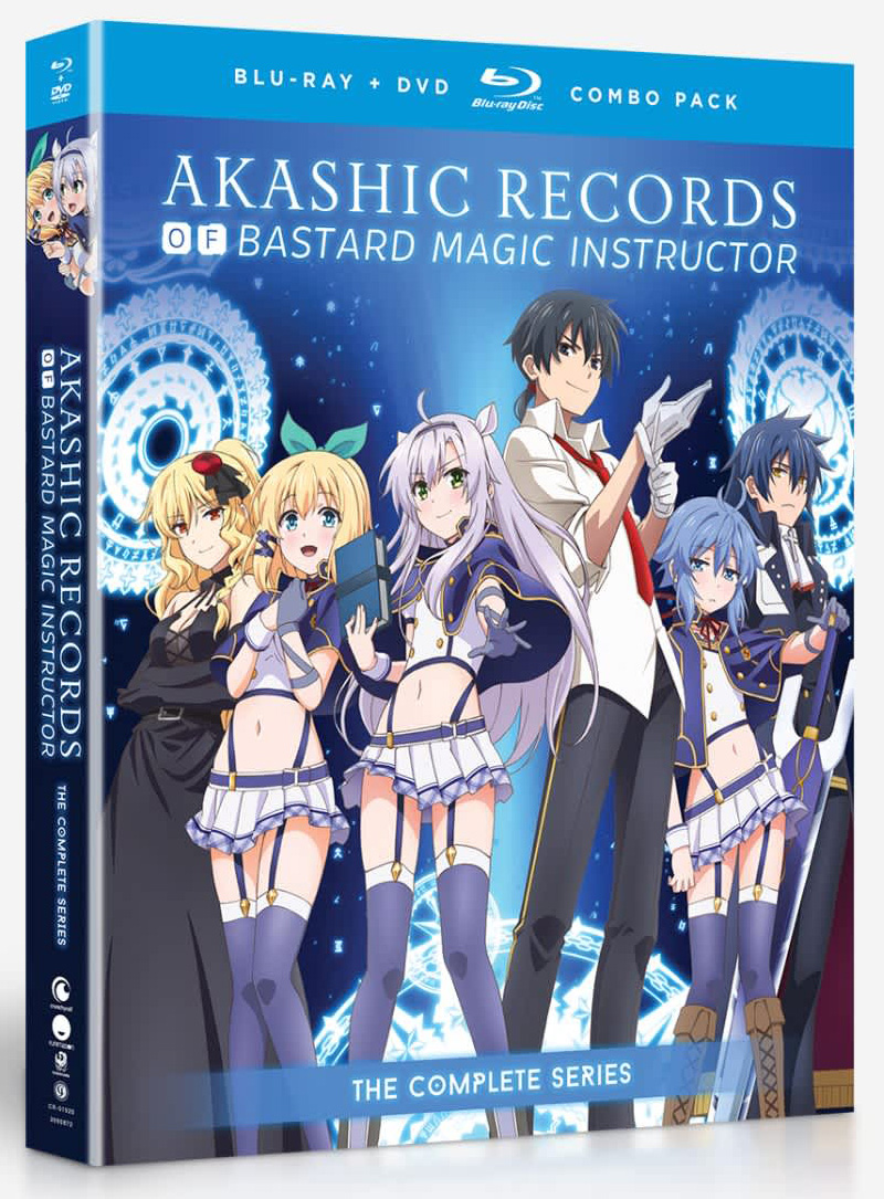 Akashic Record of Bastard Magic Instructor Blu-Ray/DVD 704400019203
