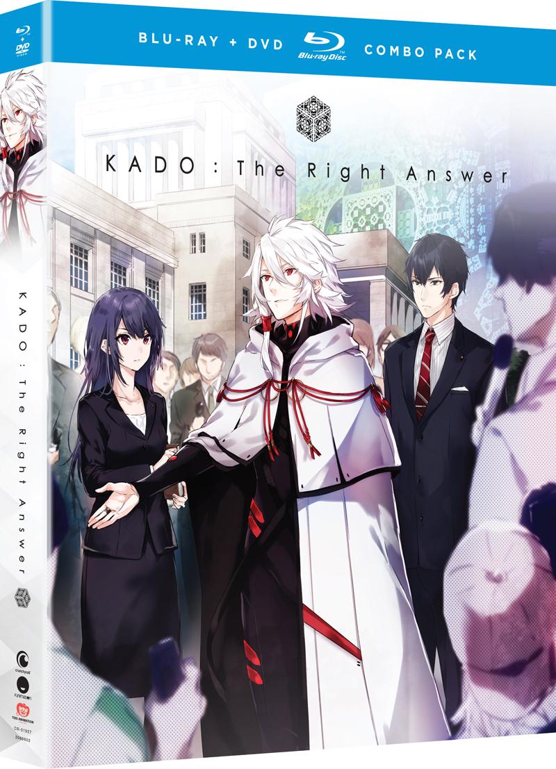KADO The Right Answer Blu-ray/DVD 704400019272