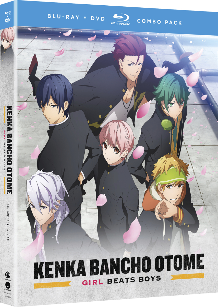 Kenka Bancho Otome Girl Beats Boys Blu-ray/DVD 704400019296