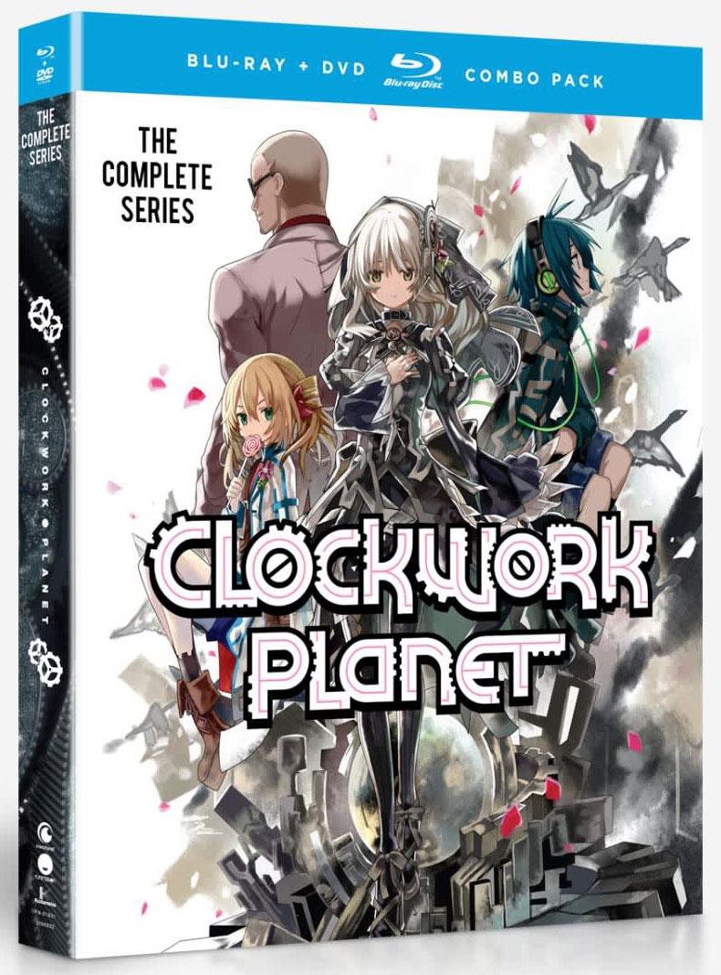 Clockwork Planet Blu-ray/DVD