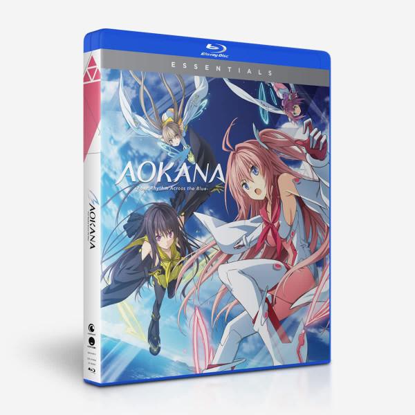 AOKANA Four Rhythm Across the Blue Essentials Blu-ray