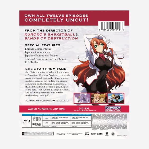 Dragonar Academy Essentials Blu-ray