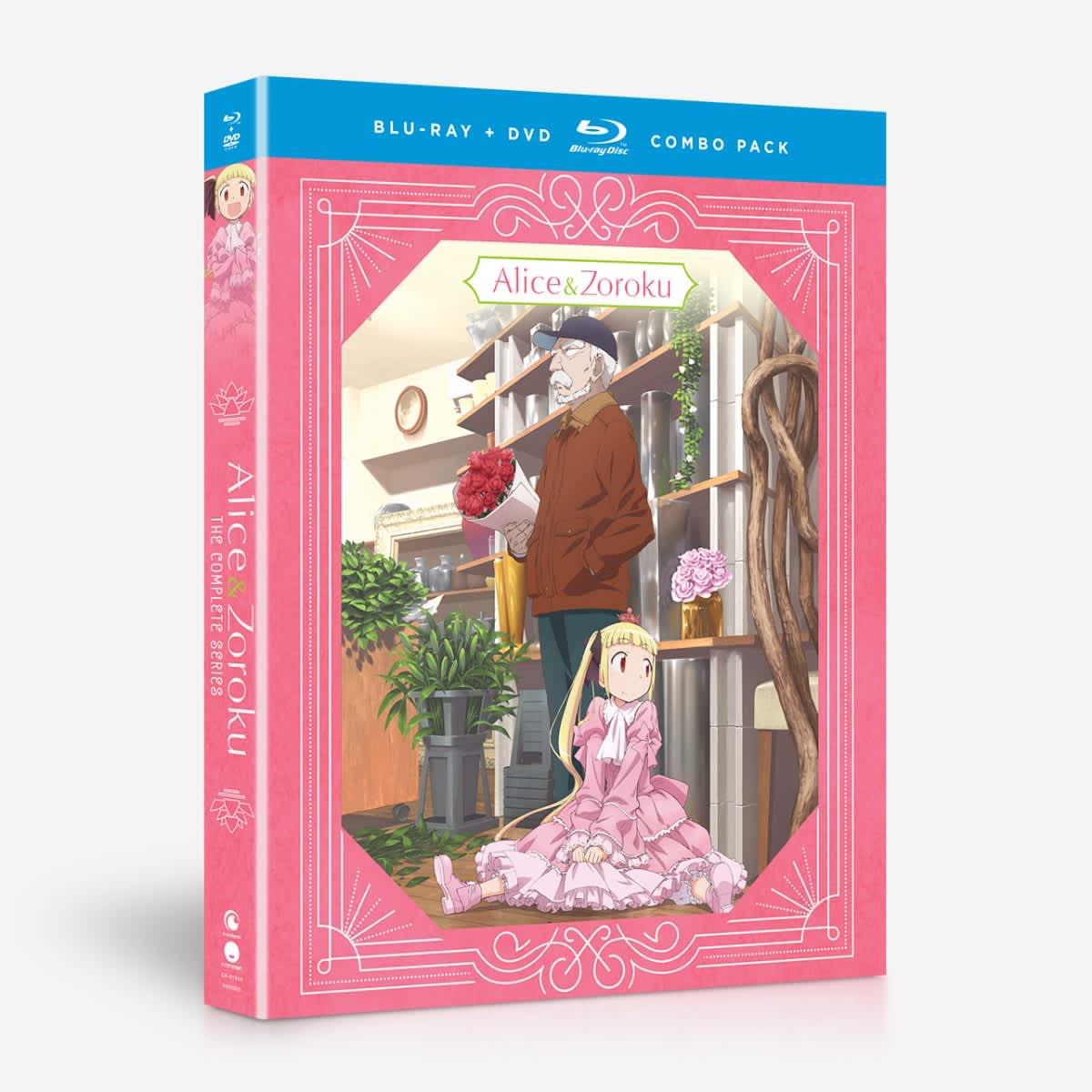 Alice and Zoroku Blu-ray/DVD 704400019456