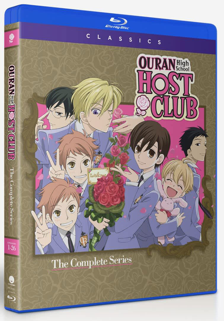 Ouran High School Host Club Complete Series Classic Blu-ray