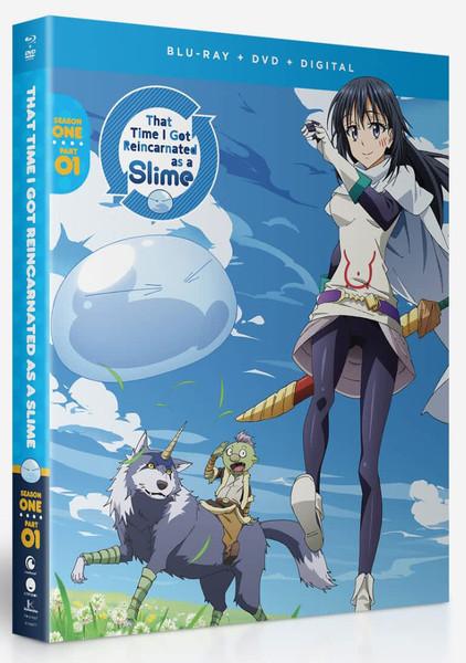 That Time I Got Reincarnated as a Slime Season 1 Part 1 Blu-ray/DVD
