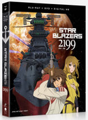 Star Blazers Space Battleship Yamato 2199 Part 1 Blu-ray/DVD