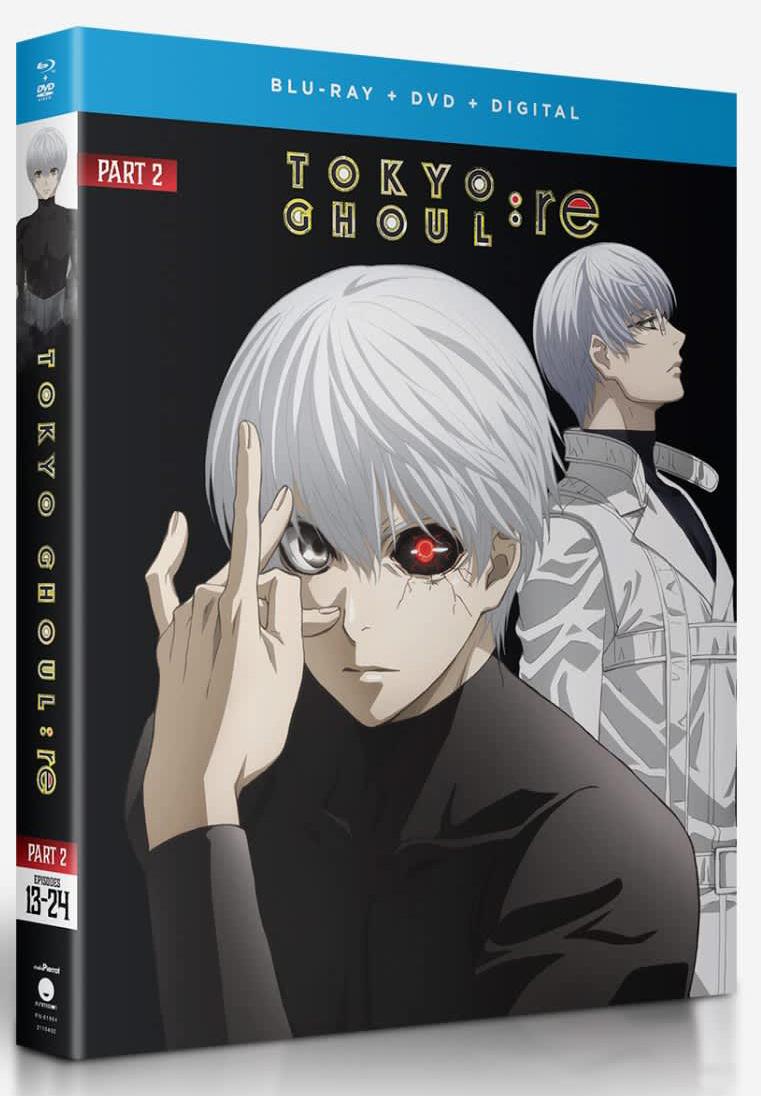Tokyo Ghoul re Part 2 Blu-ray/DVD