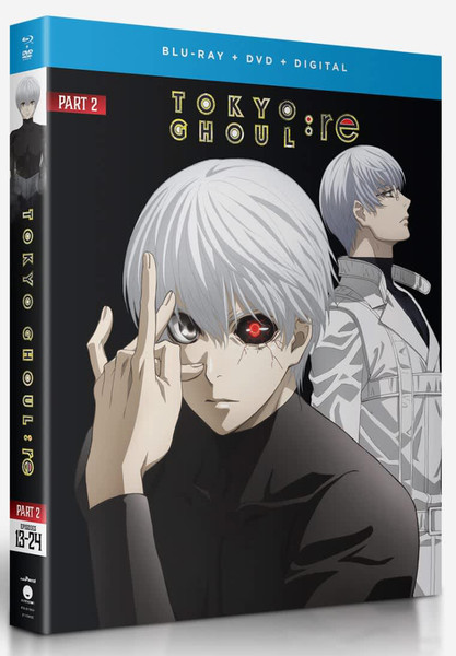 Tokyo Ghoul re Part 2 Blu-ray/DVD