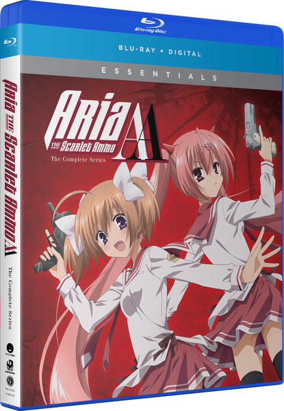 Aria the Scarlet Ammo AA Essentials Blu-ray