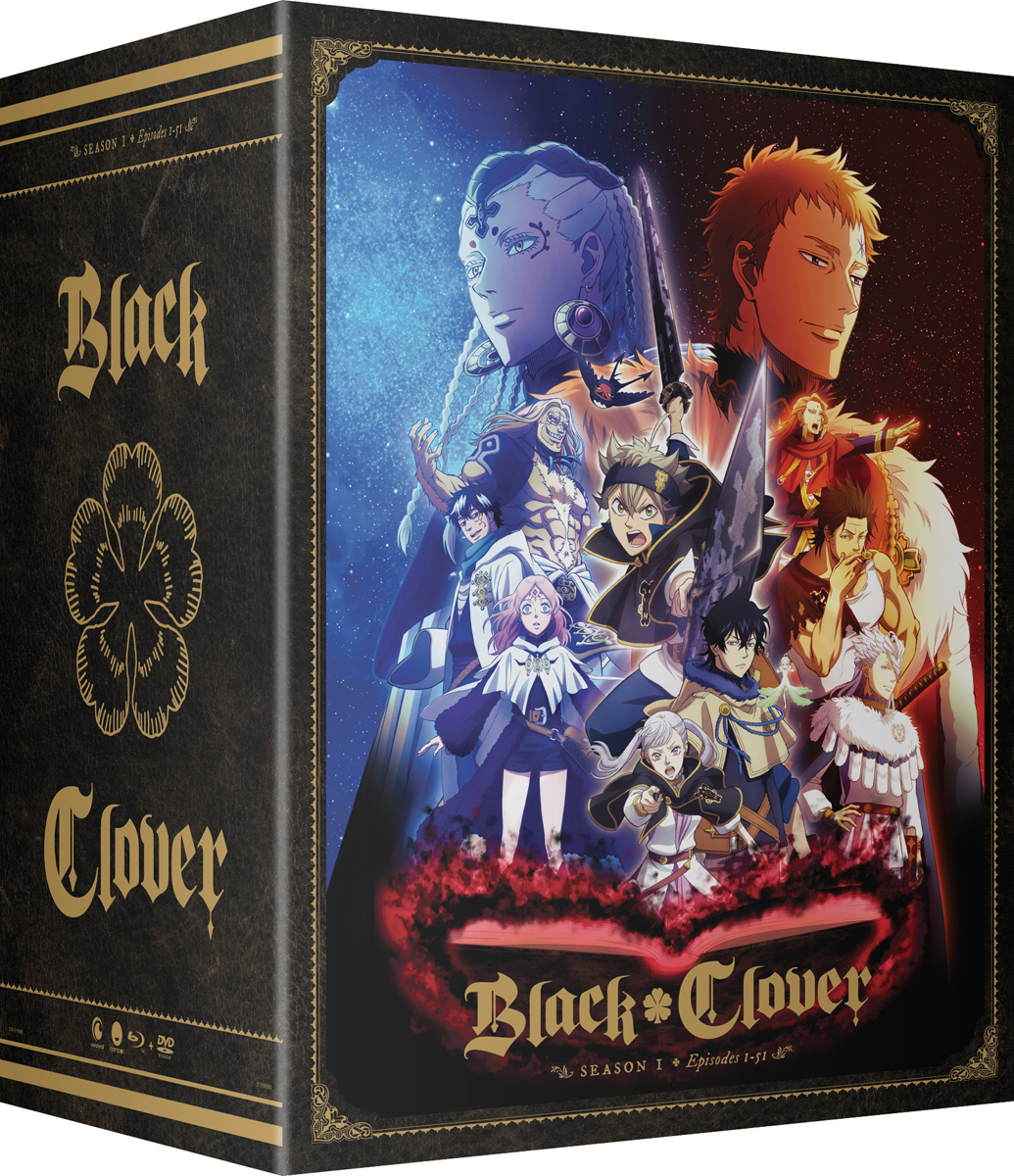 Black Clover Season 1 Part 3 Collector's Box Blu-ray/DVD