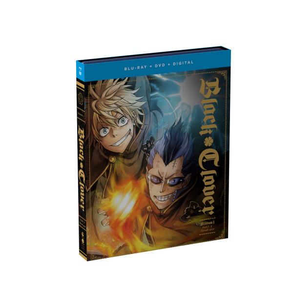 Black Clover Season 1 Part 5 Blu-ray/DVD + Artbook