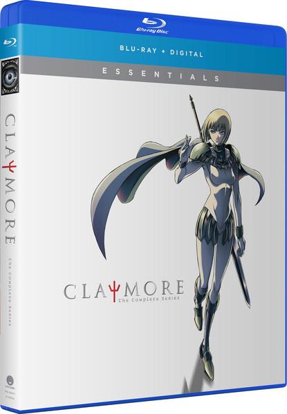 Claymore Essentials Blu-ray