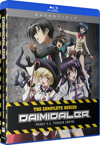 Daimidaler Prince Vs Penguin Empire Essentials Blu-ray