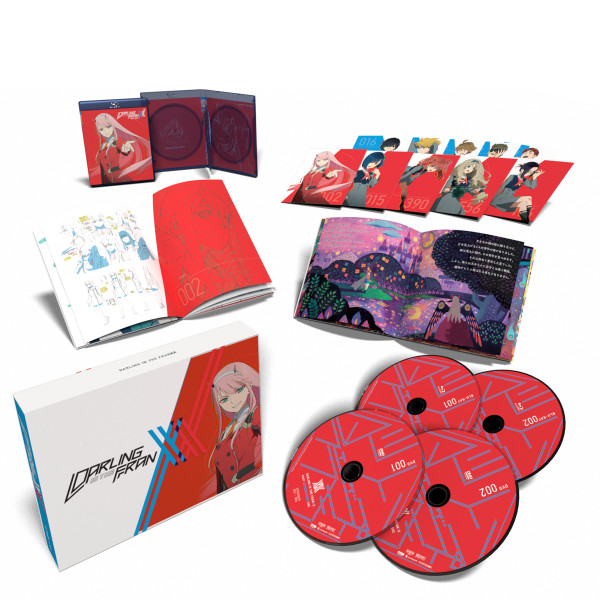 DARLING in the FRANXX Part 1 Limited Edition Blu-ray/DVD