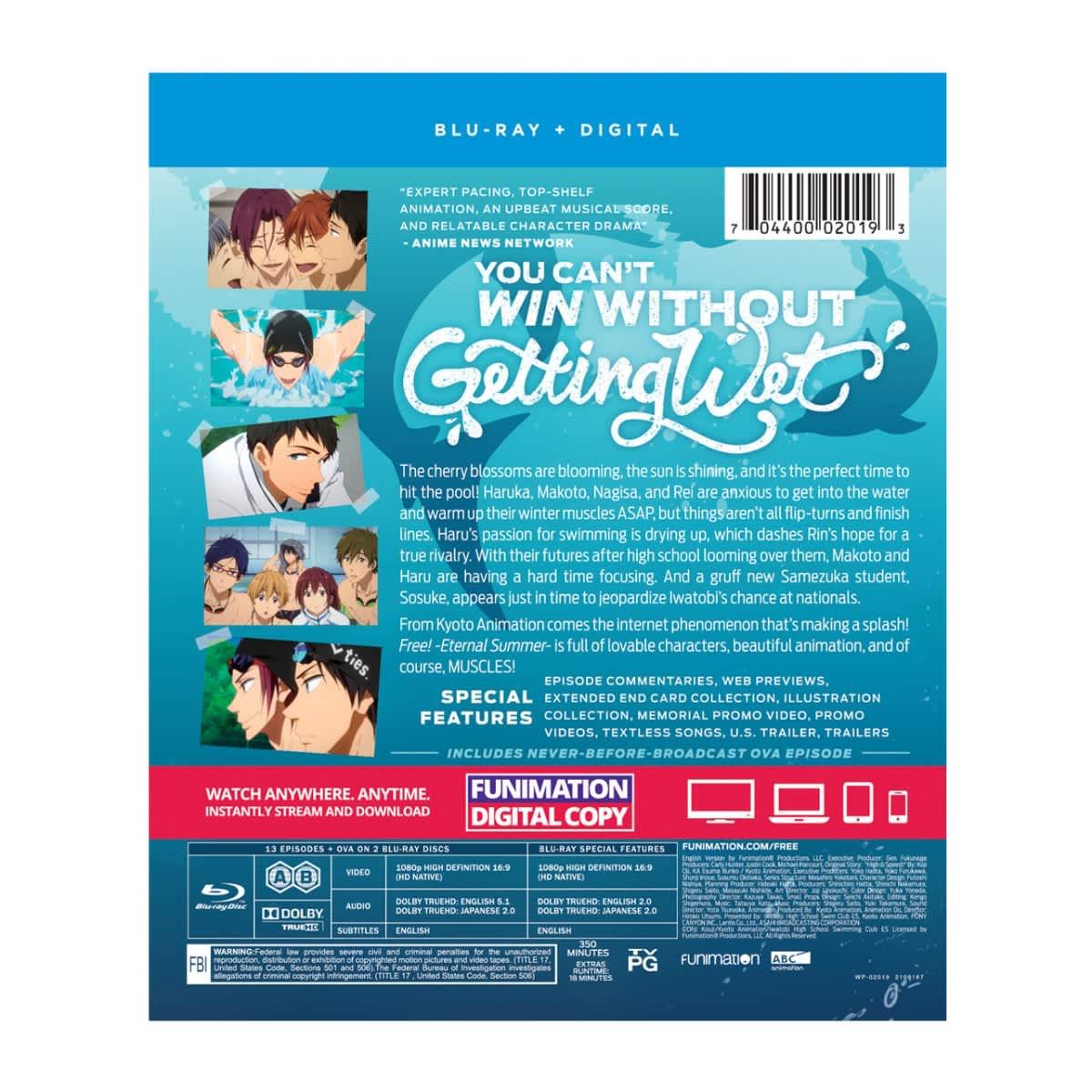 Free! Eternal Summer Season 2 Essentials Blu-ray