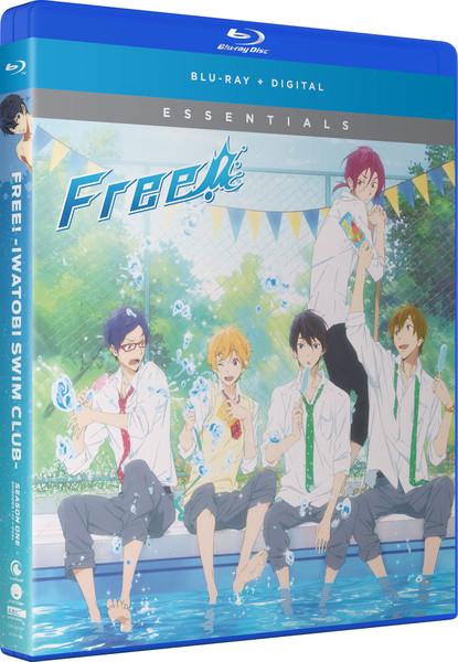 Free! Iwatobi Swim Club Season 1 Essentials Blu-ray
