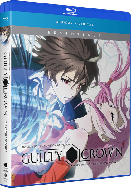 Guilty Crown Complete Series Essentials Blu-ray