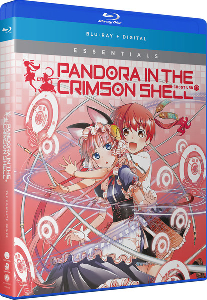 Pandora in the Crimson Shell Ghost Urn Essentials Blu-ray