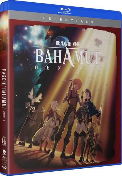 Rage of Bahamut Essentials Blu-ray