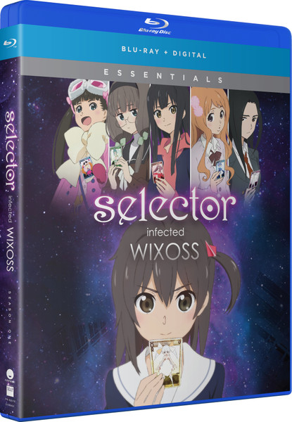 Selector Infected WIXOSS Essentials Blu-ray