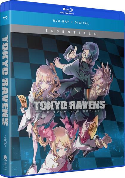 Tokyo Ravens Complete Series Essentials Blu-ray