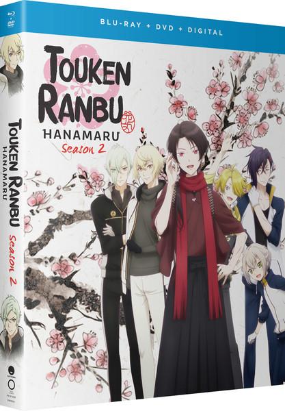 Touken Ranbu Hanamaru Season 2 Blu-ray/DVD