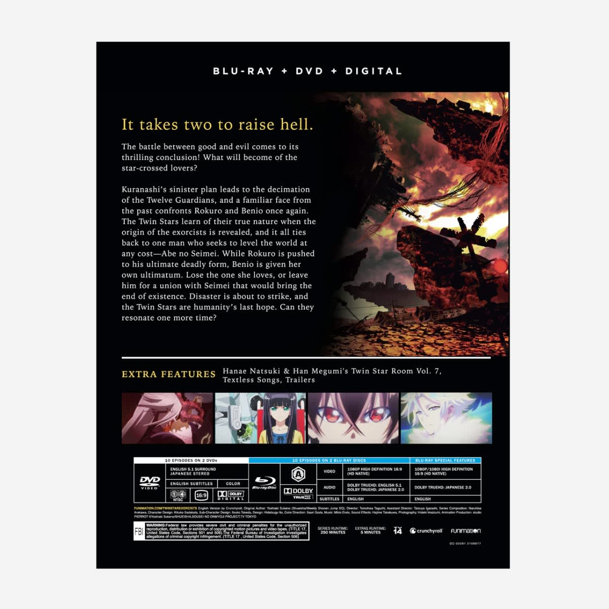 Twin Star Exorcists Part 4 Blu-ray/DVD