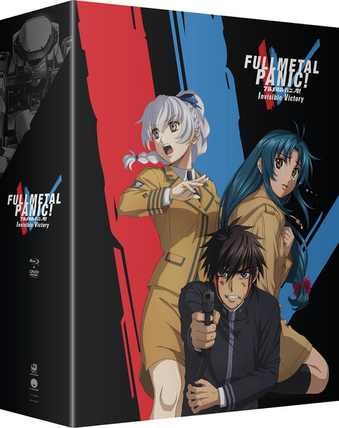 Full Metal Panic Invisible Victory Limited Edition Blu-ray/DVD