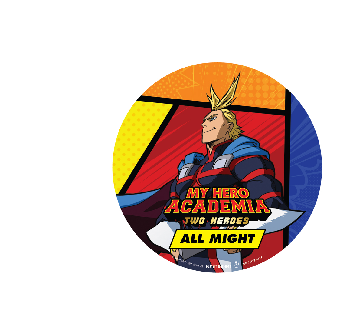 My Hero Academia Two Heroes Blu-ray/DVD + GWP