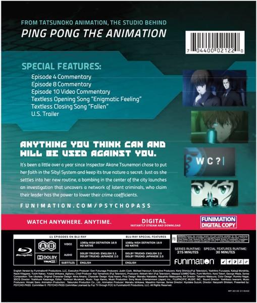 PSYCHO-PASS Season 2 Classics Blu-ray