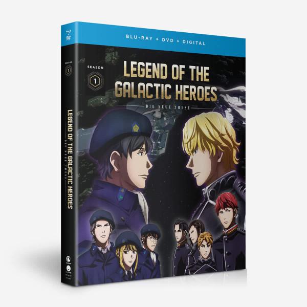 Legend of the Galactic Heroes Die Neue These Season 1 Blu-ray/DVD