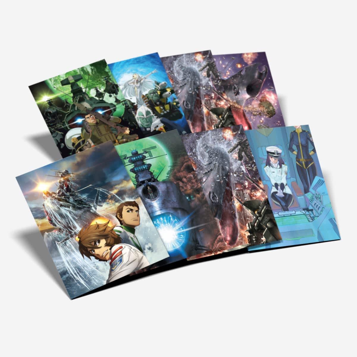 Star Blazers Space Battleship Yamato 2202 Part 1 Limited Edition Blu-ray/DVD