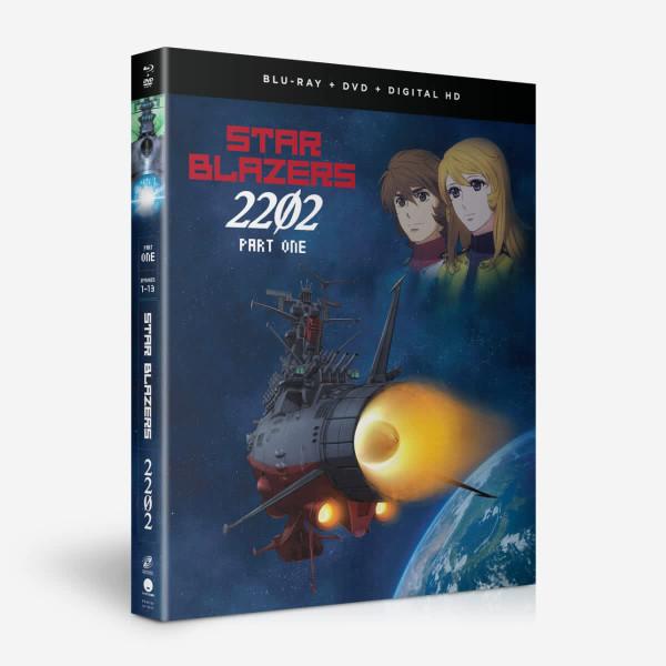 Star Blazers Space Battleship Yamato 2202 Part 1 Blu-ray/DVD