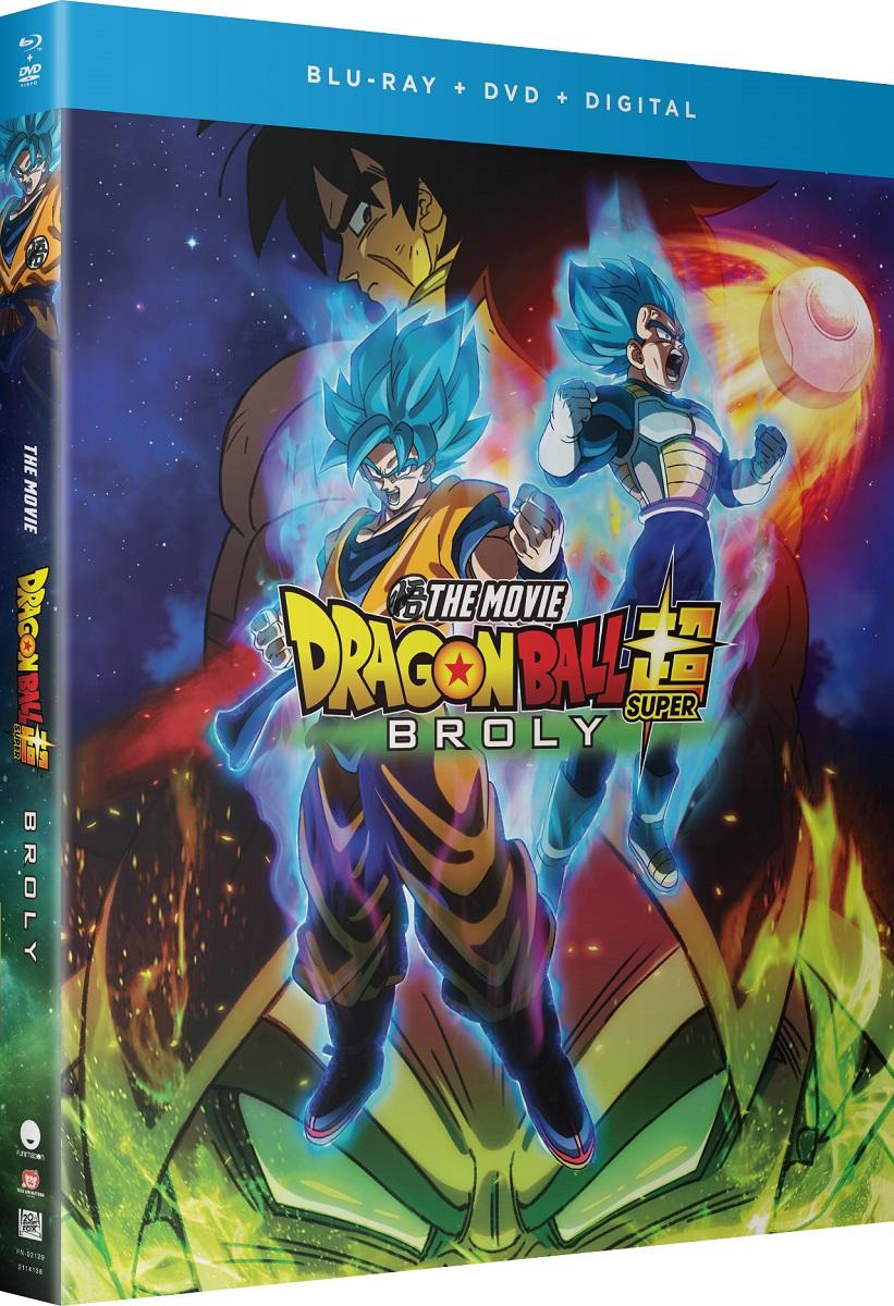 Dragon Ball Super Broly Blu-ray/DVD + GWP