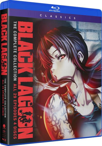 Black Lagoon Complete Series Classics Blu-ray