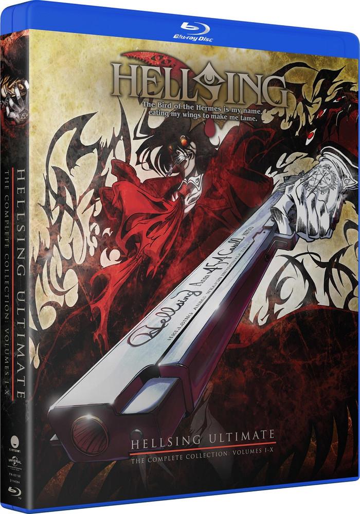 Hellsing Ultimate OVA Blu-ray