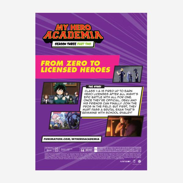 My Hero Academia Season 3 Part 2 DVD
