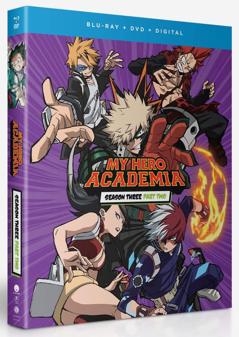 My Hero Academia Season 3 Part 2 Blu-ray/DVD