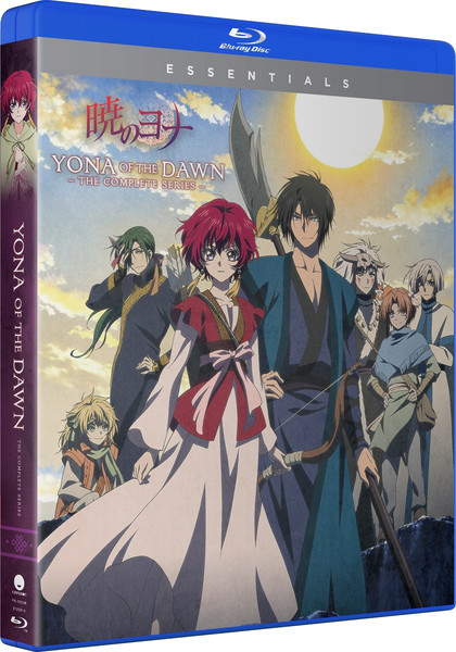 Yona of the Dawn Complete Series Essentials Blu-ray