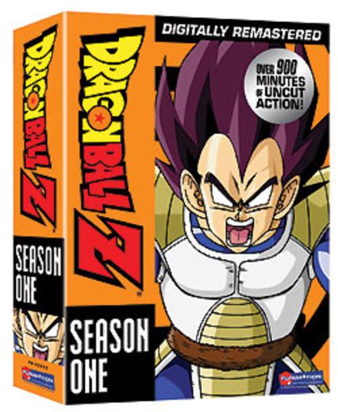 Dragon Ball Z Season 1 DVD Uncut