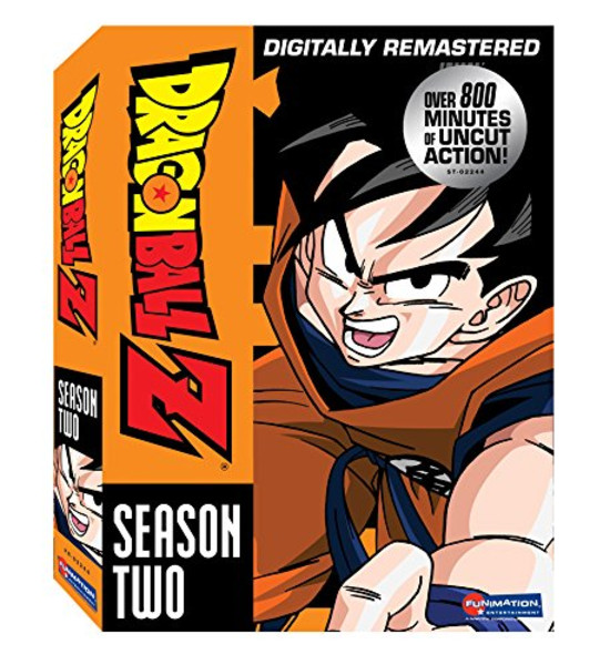 Dragon Ball Z Season 2 DVD Uncut