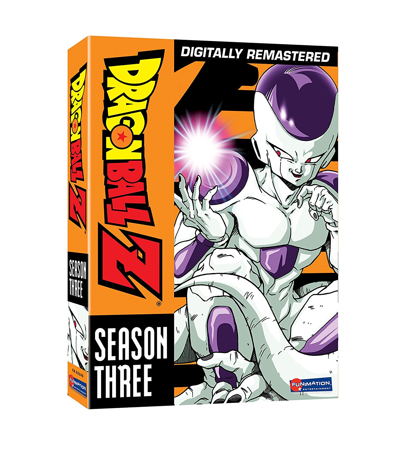 Dragon Ball Z Season 3 DVD Uncut 704400022456