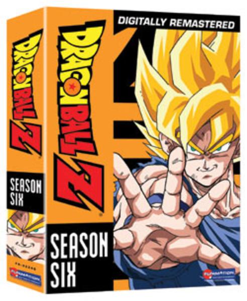 Dragon Ball Z Season 6 DVD Uncut