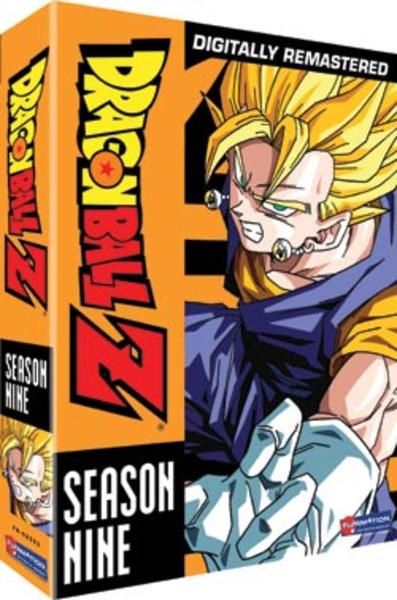 Dragon Ball Z Season 9 DVD Uncut