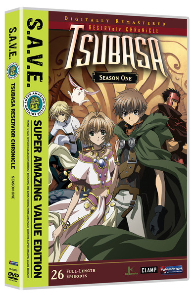 Tsubasa RESERVoir CHRoNiCLE Season 1 DVD SAVE Edition
