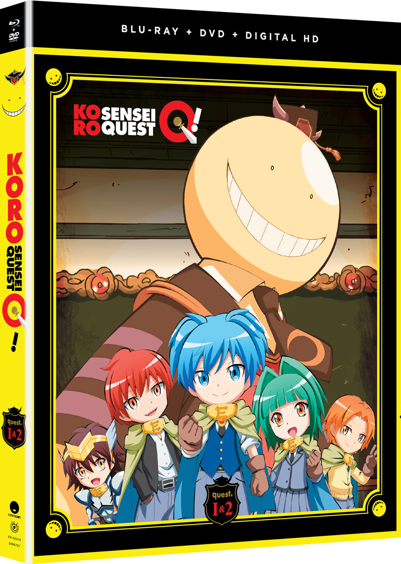 Koro Sensei Quest! Blu-ray/DVD 704400023156