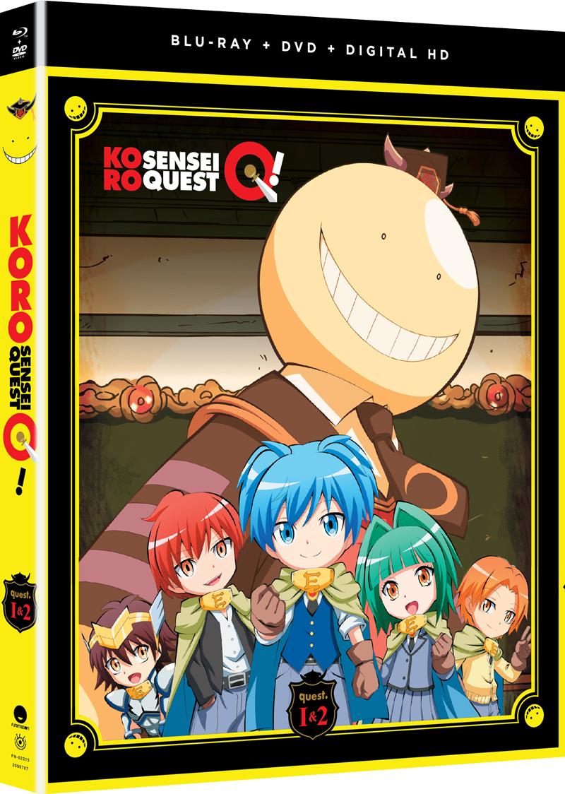 Koro Sensei Quest! Blu-ray/DVD