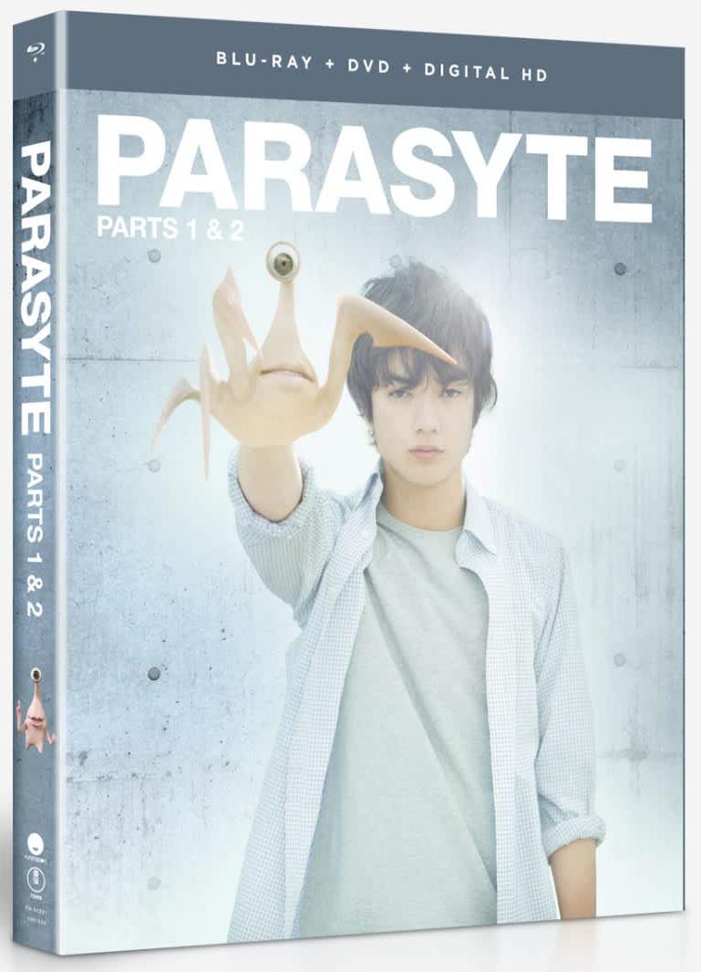 Parasyte Parts 1 & 2 Blu-ray/DVD 704400023200