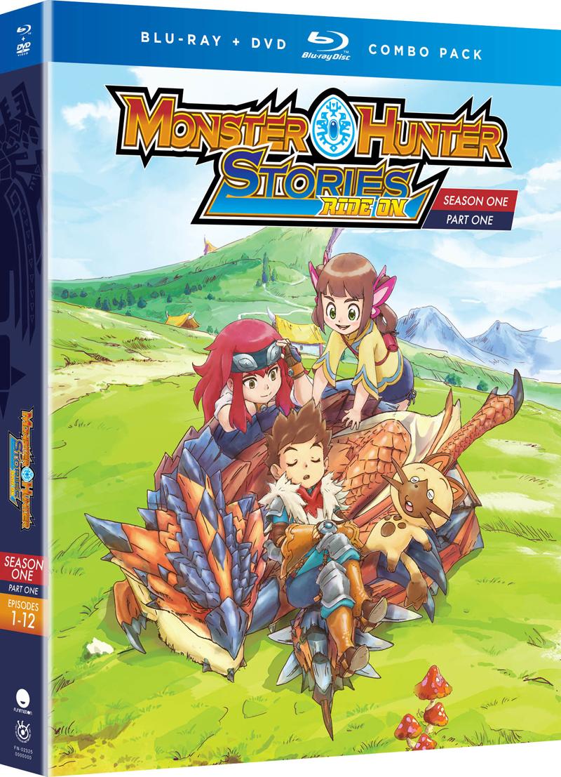 Monster Hunter Stories Ride On Season 1 Part 1 Blu-ray/DVD